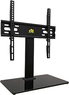 FORGING MOUNT HY Bracket HY4001 - Soporte Universal para televisores de 26 a 55 Pulgadas (Altura Ajustable, Base de Vidrio...