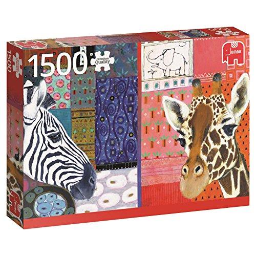 Jumbo 618585 - Puzzle Eugen Stross Arte Africana