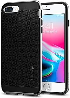 Spigen Neo Hybrid [2nd Generation] Designed for Apple iPhone 8 Plus Case (2017) / Designed for iPhone 7 Plus Case (2016) - Satin Silver
