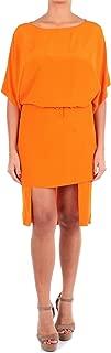 PIERANTONIO GASPARI Luxury Fashion Womens 1P6313HZ564 Orange Dress | Season Outlet