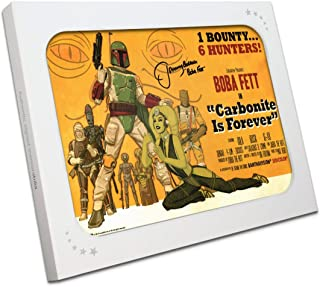 Boba Fett Signed Carbonite Is Forever Poster In Gift Box | Exclusive Memorabilia