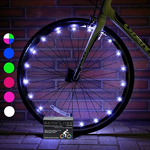 Activ Life Bike Light for Wheels (1 Tire, White) Hot Gifts for Boys, Girls & Fun...
