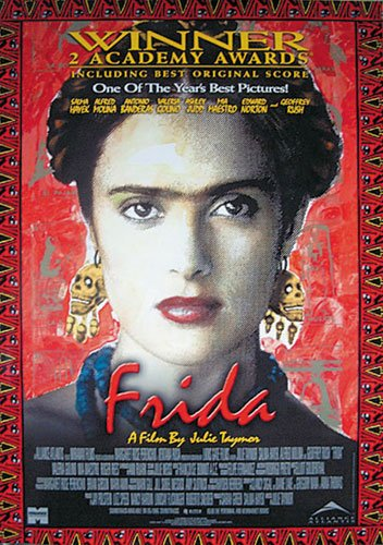 Frida - Movie Poster/Print (Size: 27 inches x 40 inches) (Black Poster Hanger)