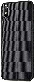 Samsung Galaxy A01 Core / M01 Core Case Cover Carbon Fiber Design TPU Black Soft Slim Flexible Shock Absorbent Protective ...