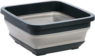 Lavabo pliable Bassin pliable - Basines portatives créatives Silicone Pliant Multifunction Multifunction Gauquettes épais ...