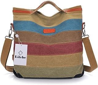 Woman Ladies Multifunctional Backpacks, Handbags, Messenger Bags, Shoulder Bags, Traveling Bags, Sports Bags, Backpacks Girl by Lifebe BG