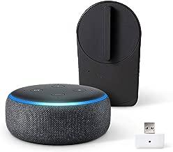 Echo Dot 第3世代 - スマートスピーカー with Alexa、チャコール + セサミ mini スマートロック本体 マットブラック + Wi-Fiアクセスポイント