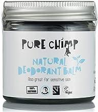Bálsamo Desodorante Natural 60 ml de PureChimp - Cristal Reciclable – Carbón Activado - Vegano – Libre de Alcohol y Aceite de Palma Para Piel Sensible (60ml)