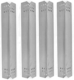 bbqGrillParts Replacement Heat Plate for Jenn-Air 720-0336B, 720-0336C, 720-0709, 720-0720, 730-0336B, 730-0336C, 740-0711, 740-0712, 720-0727, 730-0709B, 730-0727, 730-0720 Gas Models (4-Pack)