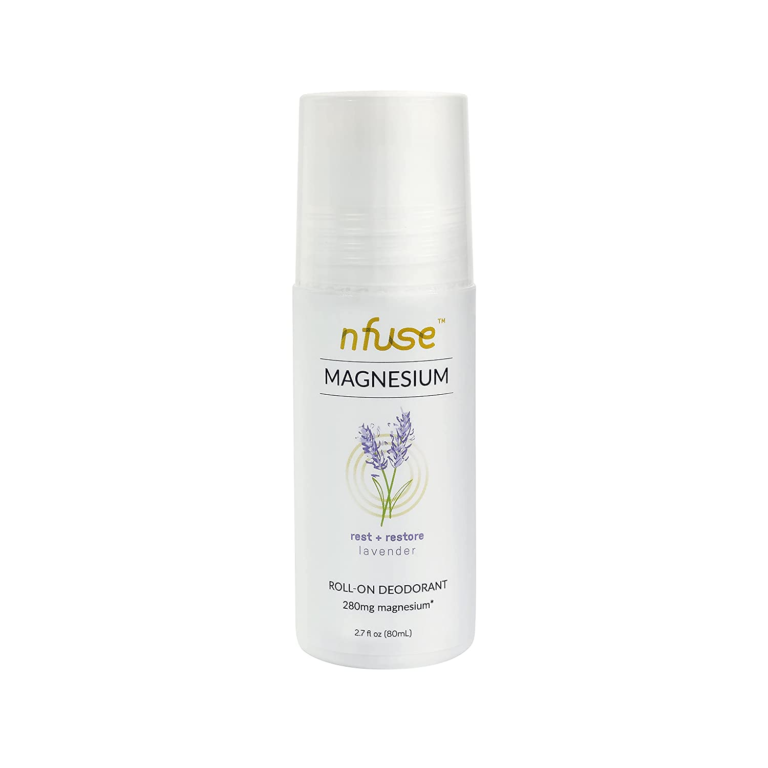 nfuse Natural Magnesium Roll-on Patented All stores are wholesale sold D - Deodorant