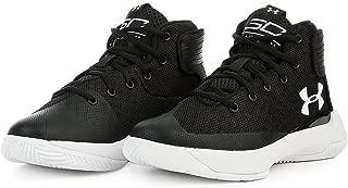 Under Armour 1295999-001 : Kids Curry 3Zero Sneaker Black/White (2 Little Kid M)