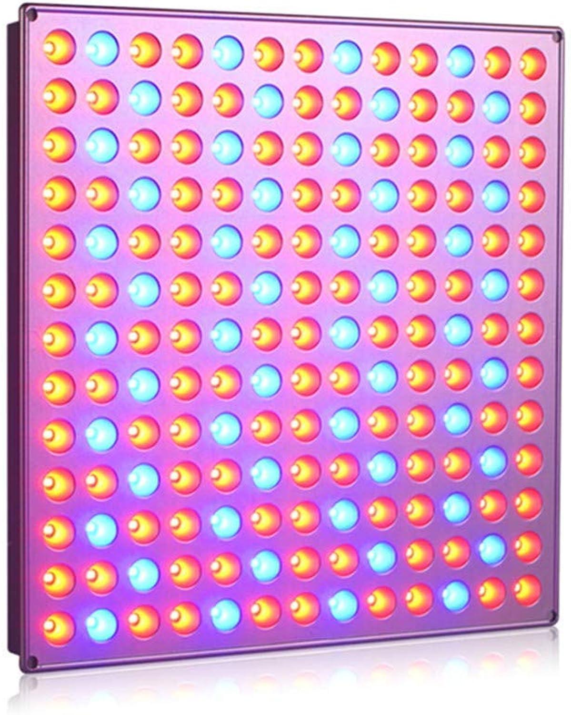 HAOHAODONG 45W LED wachsen helle volle Spektrum-Anlage 85-265V wachsen helle 169leds UV-IR-Lampen-Platte für Treibhauswachstum