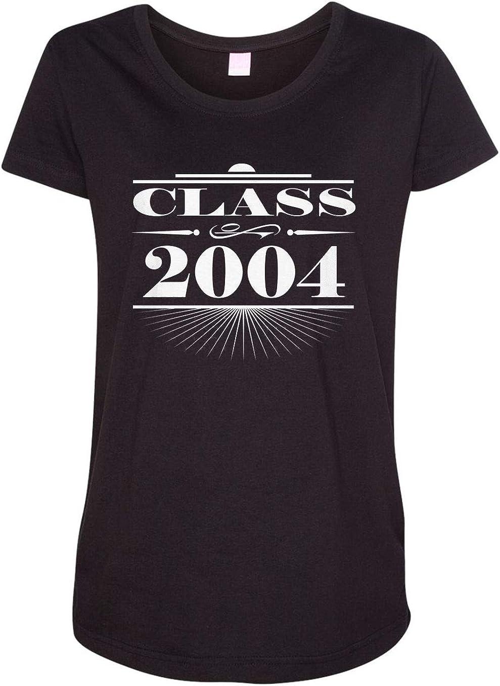 HARD EDGE DESIGN Women's Art Deco Class of 2004 T-Shirt