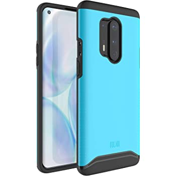 TUDIA Merge Designed for OnePlus 8 Pro Case, Dual Layer Phone Case Cover for OnePlus 8 Pro (Blue)