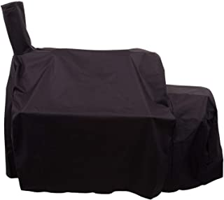 Wondjiont Heavy-Duty Weather-Resistant 600D Oxford Fabric Grill Cover for Oklahoma Joe's Longhorn Offset Smoker