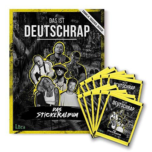 Das ist Deutschrap - Bundle (Heft + 10 Stickertüten) | Panini Sticker- & Sammelalbum