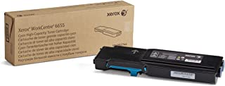 Xerox Workcentre 6655 Cyan High Capacity Toner Cartridge (7,500 Pages) - 106R02744