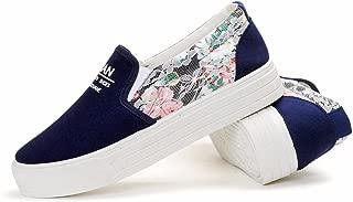 Set of Sneakers Fashion lace Lazy Shoes Platform Shoes Women's Canvas Shoes