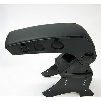 Accoudoir central coulissant avec rangement Carjoy 48014/-/Universel /En simili cuir noir