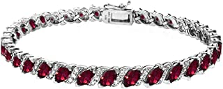 Best silver ruby bracelet Reviews