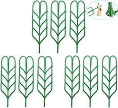 WINGOFFLY DIY Garden Plant Pot Mini Climbing Trellis Plant Support(9 Pack)