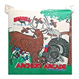 Morrell Youth 18 Pound Children's Arcade Field Point Archery Bag Target for 30 Pound Bows with 2 Shooting Sides and Over 20 Animals