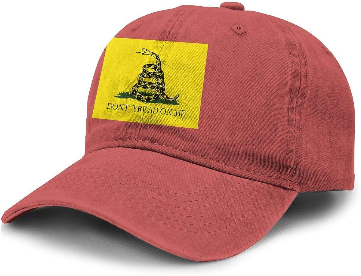 Source Point Don't Tread On Me Gadsden Flag Unisex Adult Baseball Hat Cowboy Cap Snapback