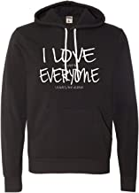 Adult I Love It When Everyone Leaves Me Alone Funny Deluxe Super Soft Sweatshirt Hoodie