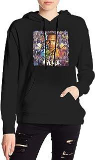 NOT Chris Brown F.A.M.E. Women`s Long Sleeve Hoodie Drawstring Sweatshirt Pocket Fleeces