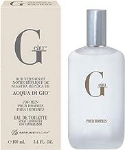 PB Parfums Belcam G Eau Version of Acqua Di Gio Eau de Toilette Spray for Men, 3.4 Fluid Ounce