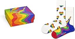 2-Pack Pride Socks Gift Set