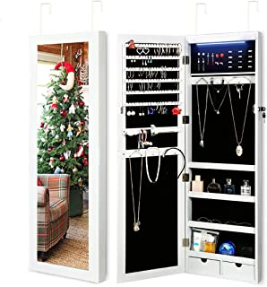 jewelry storage cabinet with lock