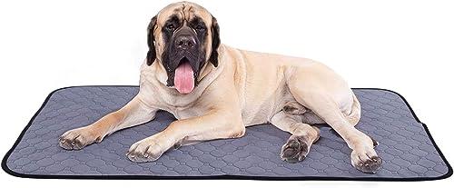 Pecute Almohadillas de Entrenamiento para Perros Pañales de Perro Lavable Ultraabsorbente Reutilizables Empapadores T...