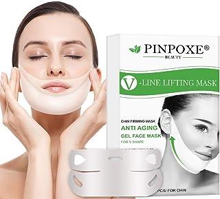 comprar comparacion V Face Mask, Double Chin Reducer, Mascarilla Reafirmante Facial, Mascarilla Adelgazante, 4D Forma V Oreja Colgada Pasta Hi...