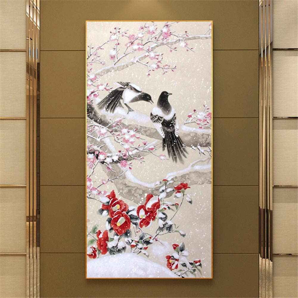 5D DIY Diamond Painting Kits for Adults Large Super sale Bird Challenge the lowest price of Japan Tree Kids Pi