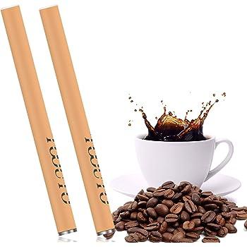 電子タバコ 使い捨て コーヒー フレーバー 400-450回吸引可能 電子タバコ ニコチン・タール0 爆煙 禁煙補助 TOOUTO