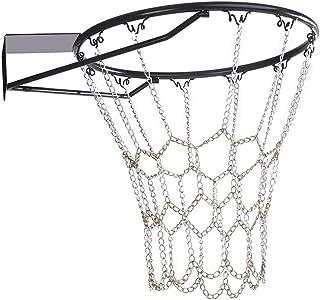 Sharplace Cesta de Baloncesto Equipo de B/ásquet con Red de Nylon Accesorios Deportivo