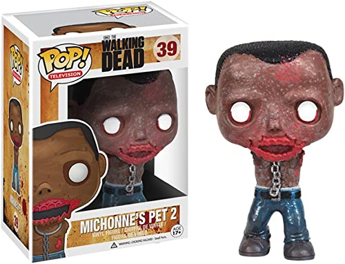 [UK-Import]Walking Dead Michonne Pet Zombie Pop  Vinyl Figure - Pet Walker 2
