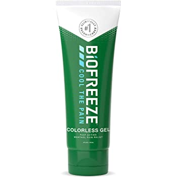 Biofreeze Arthritis Pain Relief Gel, Fast Acting, Long Lasting, & Powerful Topical Pain Reliever, 4 oz. Tube, Colorless (Packaging May Vary)