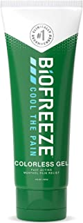 Biofreeze Arthritis Pain Relief Gel, Fast Acting, Long Lasting, & Powerful Topical Pain Reliever, 4 oz. Tube, Colorless (P...