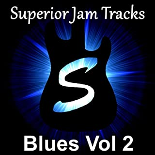 Spacey Blues Guitar Backing Track in B Minor