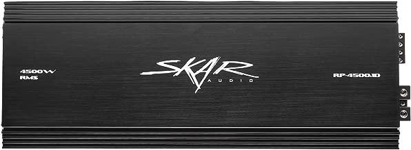 Skar Audio RP-4500.1D Monoblock Class D MOSFET Amplifier with Remote Subwoofer Level Control, 4500W