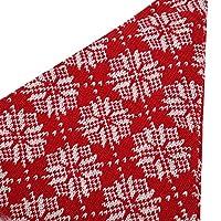 ソフトで肌に優しい絶妙な技量 2 個子供大人クリスマス帽子ニット生地子供と大人のクリスマス ツリー用綿毛ボール(Snowflake)