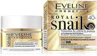 Eveline Cosmetics Kunglig snigel intensiv rynkfri dag/nattkräm 40+ 50 ml