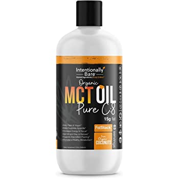Organic Pure 99.2% C8 MCT Oil - Keto, Paleo, Brain & Heart Health - Fast & Sustainable Ketosis, Focus, Energy - Coffee, Shakes, Salads, Cooking - Flavorless, Non-GMO, 32 Fluid Oz