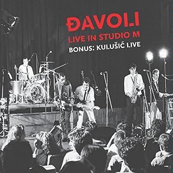 Live In Studio M / Bonus: Kulušić Live