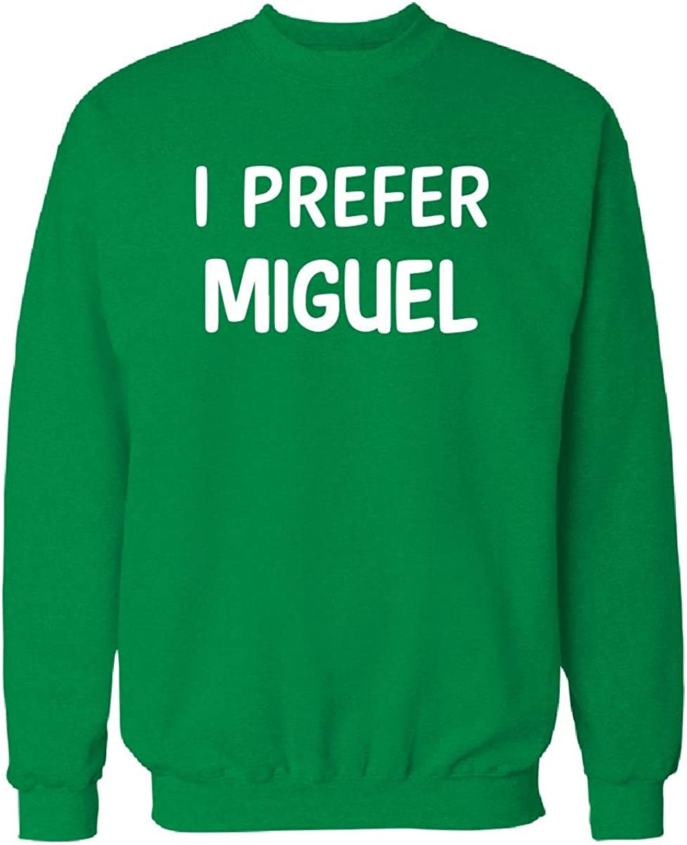 Urban Collection I Prefer Miguel XL Spring new work one after another Name Sweatshirt Outlet SALE Irish_Green