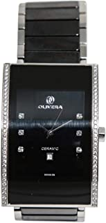 Casual Watch for Men by Olivera, Multi Color, Inlay, OG1317