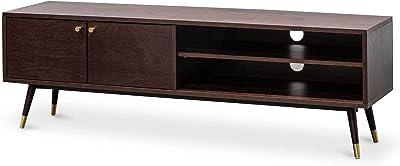 Tasha 160cm Wooden TV Entertainment Unit - Walnut