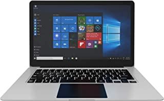 Ctroniq N14s Notebook PC - Intel Cherry Trail- T3 Z8350, 1.44 Ghz, 500MHz Quad-Core, 14 inch HD, 32GB, 2GB, Windows 10, Eng Keyboard, Silver